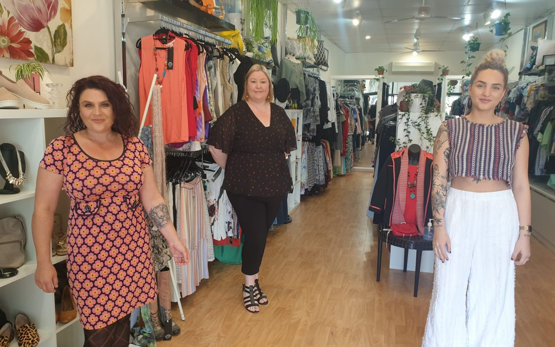 Recycled fashion helps great cause