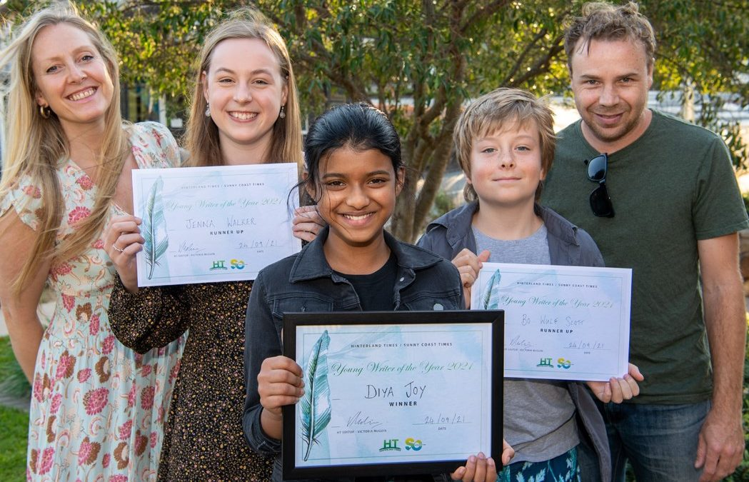 Hinterland Times Young Writer of the Year 2021